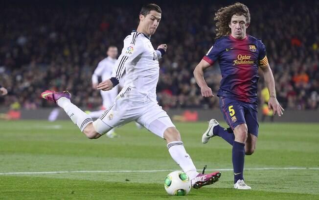 Cristiano Ronaldo marcou duas vezes pelo Real  Madrid