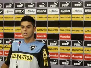 Matheus Menezes prega reação já no jogo contra o Corinthians
