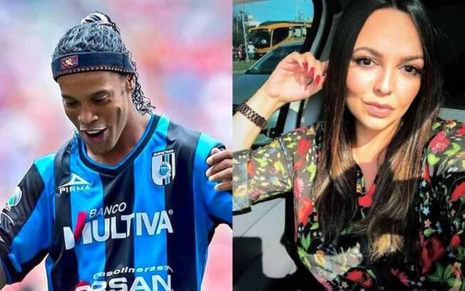 Ronaldinho Gaúcho e Priscilla Coelho