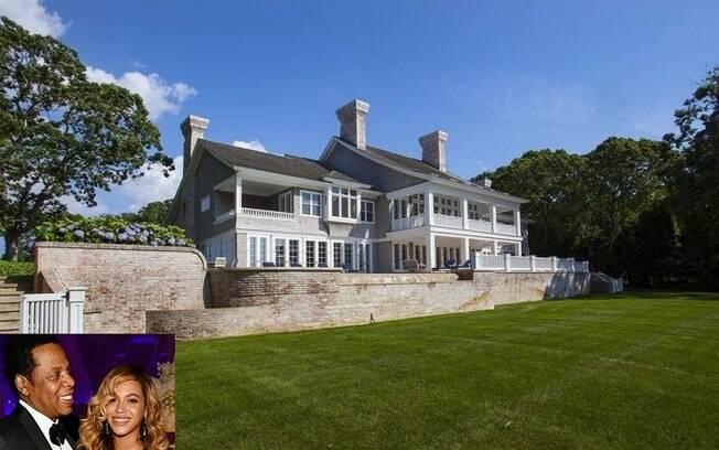 A mansão recém-comprada por Beyoncé e Jay-Z tem mais 1,1 mil metros quadrados e sete quartos