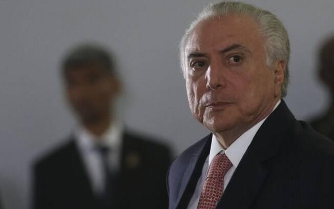 Michel Temer presidiu o país de 2016, após o impeachment de Dilma Rousseff, a 2018