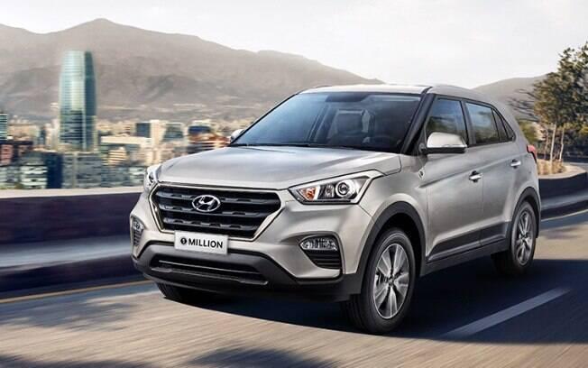 Hyundai Creta e HB20 1 Million: a marca acaba de ser atingida na fábrica de Piracicaba, no interior de São Paulo