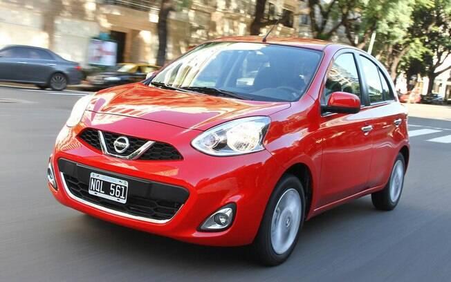 Nissan March ganha câmbio automático de quatro marchas na Argentina. No Brasil, teremos câmbio CVT.