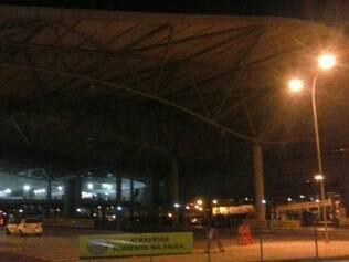 Estação São Gabriel sem energia por mais de uma hora
