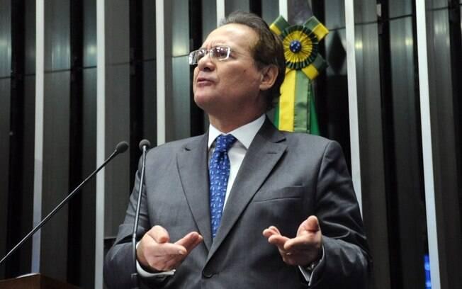 O senador Renan Calheiros: devolução de medida foi considerada ato hostil por parte do Planalto