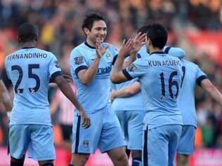 City venceu por 3 a 0 e reassumiu a vice-liderança do Campeonato Inglês
