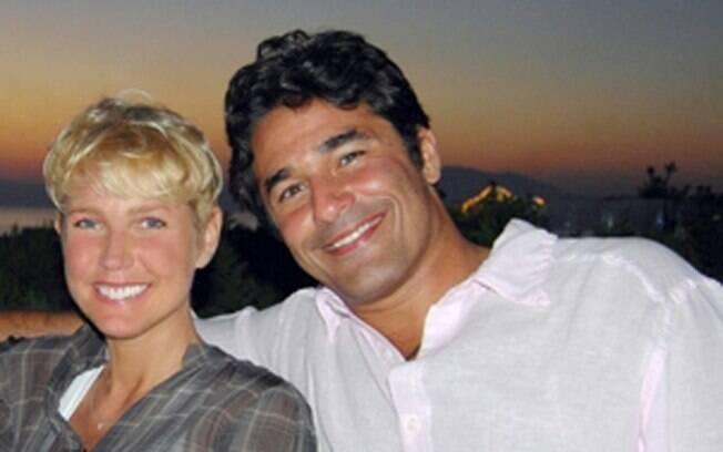 Xuxa e Luciano Szafir: a estreia dele foi em