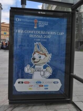 Estações de ônibus de Moscou estimulam presença na Copa das Confederações