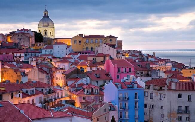 Vista de Lisboa: colorida para quem vai a passeio