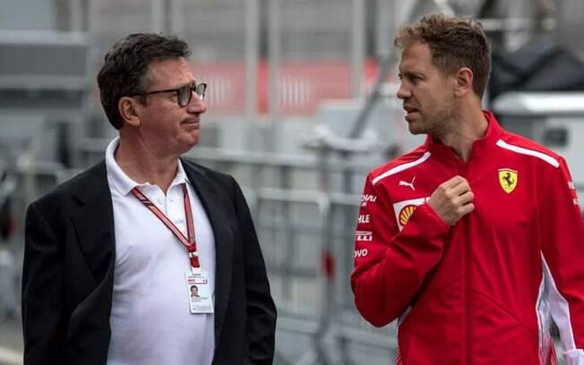 Louis Camilleri e Vettel pretendem colocar a Ferrari no topo da Fórmula 1 em 2019