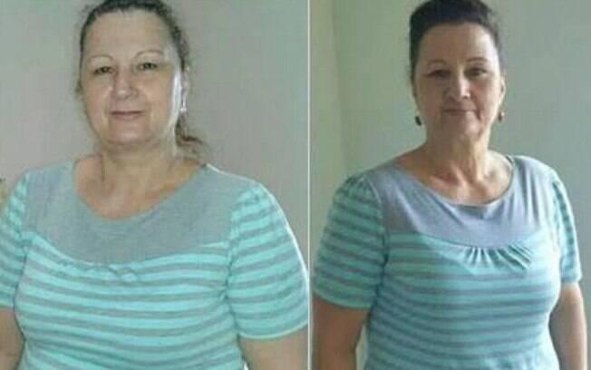 Sonia comemora ter de novo o peso que exibia há 30 anos