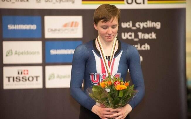 Kelly Catlin era uma ciclista de destaque nos Estados Unidos
