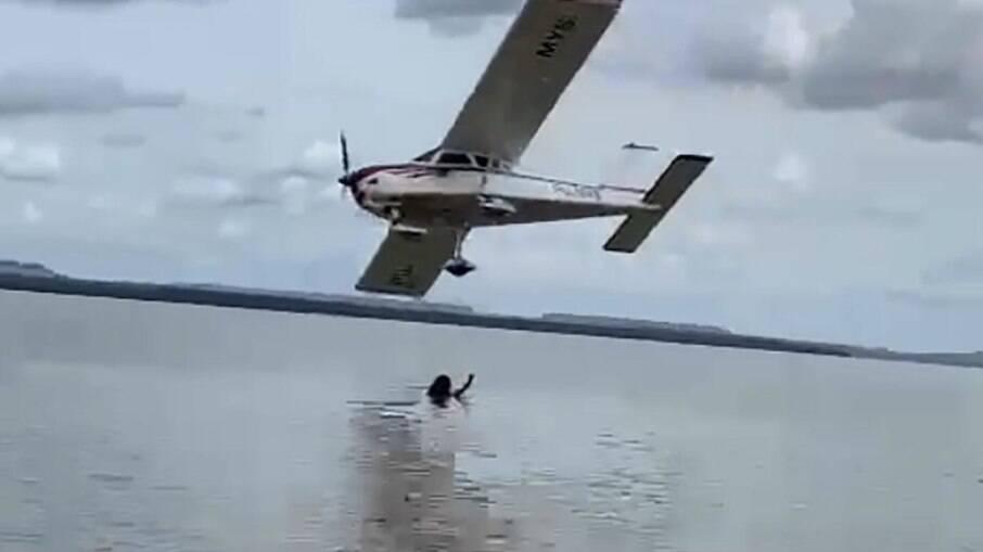 Piloto de avião realiza voo rasante e é preso no Maranhão