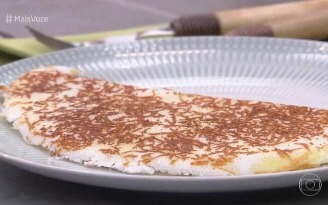 Ana Maria Braga ensinou receita de tapioca rendada
