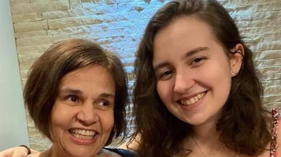 Filha de Claudia Rodrigues está com Covid-19
