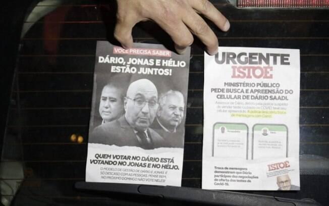 PM apreende 500 panfletos apócrifos contra Dário Saadi