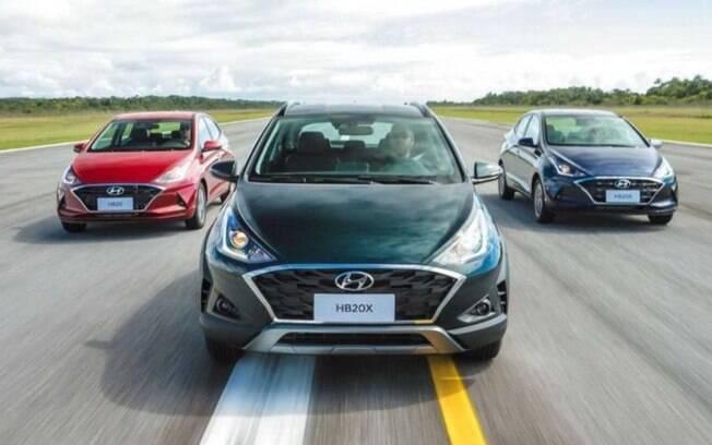 Hyundai HB20. Foto: Divulgação