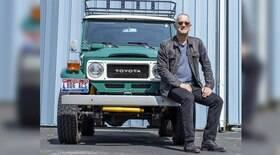 Trailer e Toyota Land Cuiser de Tom Hanks vão a leilão
