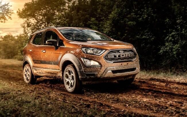 Ford EcoSport Storm: versão topo de linha com tração integral, sistema de som de alta-fidelidade da Sony e visual descolado entre os atrativos