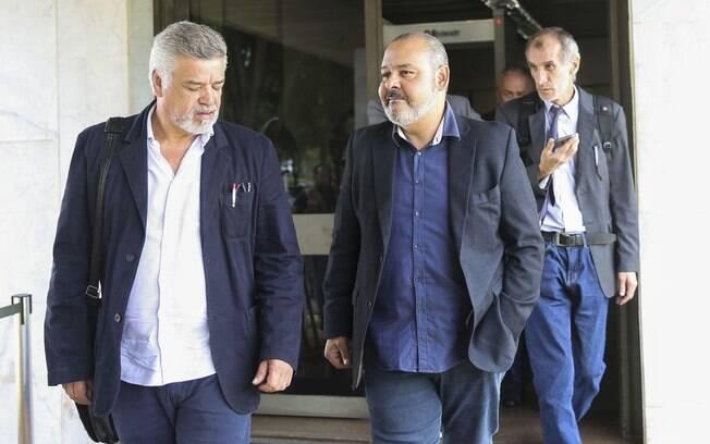 Representantes da CUT e de entidades sindicais se reuniram com Hamilton Mourão