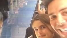Filha de Alessandra Ambrósio vê a mãe top desfilando pela 1ª vez