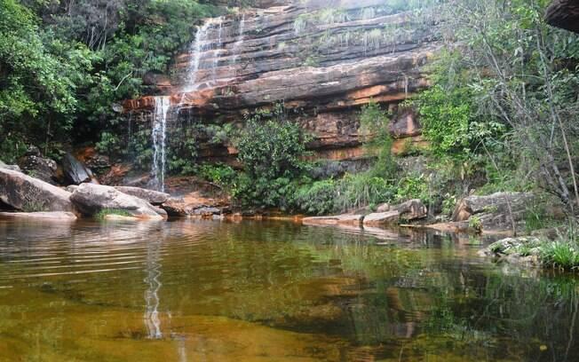 Cachoeira do Poço do Diabo, no Parque Nacional da Chapada da Diamantina