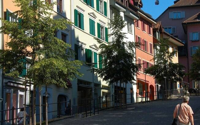 A maioria dos recurso naturais da Suíça se esvaíram ainda na Era Medieval