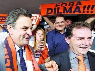 Vice. Aécio recebeu de Paulinho a sugestão do nome do presidente da Força Sindical, Miguel Torres (SDD), para candidato a vice
