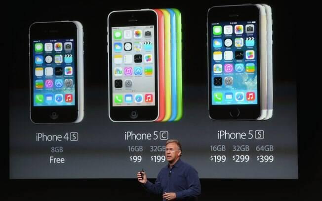 iPhone 5S custará a partir de US$   199 (vinculado a contrato de operadoras) nos EUA
