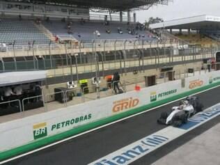 Os pilotos da Williams, os xarás Massa e Nasr terminaram a sessão de treinos livres em quinto e 12º lugar, respectivamente