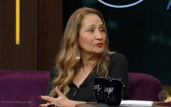 Sonia Abrão em entrevista para Fábio Porchat