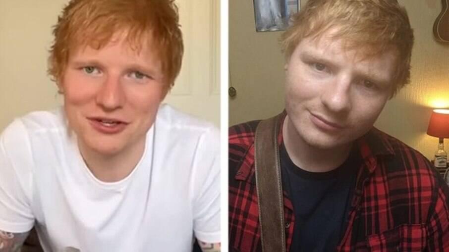 Ed Sheeran e Ty jones