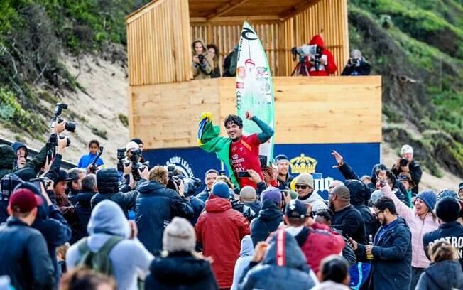 Gabriel Medina venceu etapa sul-africana do Mundial de surfe