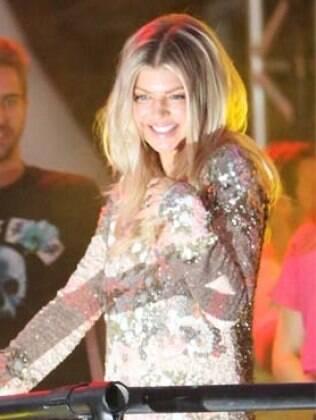 Fergie se apresentou nessa sexta-feira (17), em Florianópolis