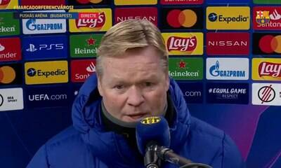 Técnico do Barça abandona sala de imprensa e deixa recado para a torcida