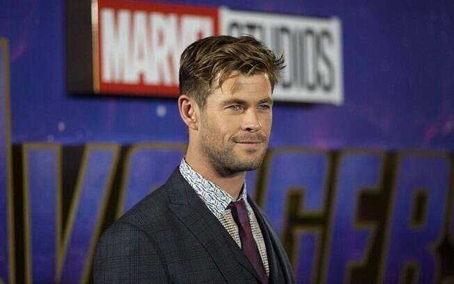Chris Hemsworth precisou aumentar a quantidade de calorias da dieta para interpretar o Thor