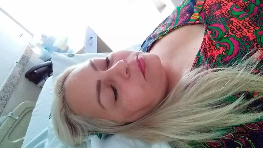 Emília Alencar de Souza foi vítima de uma falso cirurgião em Manaus