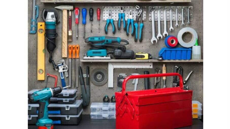 Caixa de ferramentas é um item indispensável em qualquer casa