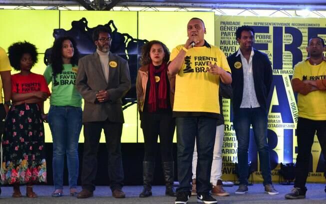 Frente Favela Brasil é o partido criado para gerar oportunidades e defender os direitos dos negros e moradores de periferias