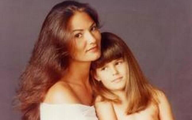 Luiza Brunet com a filha, Yasmin