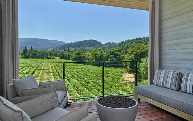 Outra opção para ter boas fotos de viagem é A Las Alcobas Napa Valley, A Luxury Collection, na Califórnia