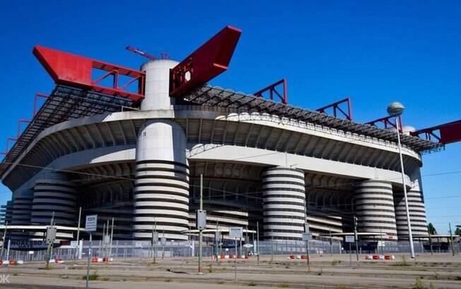 Estádio San Siro, na Itália
