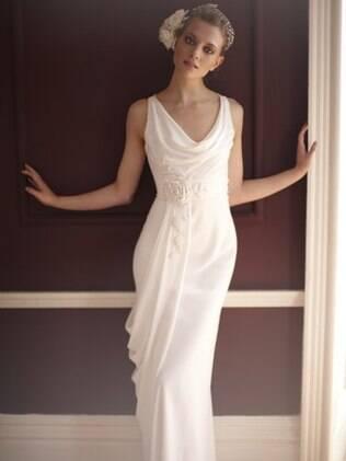 Modelo minimalista, mais sofisticado e clássico. De Temperley London