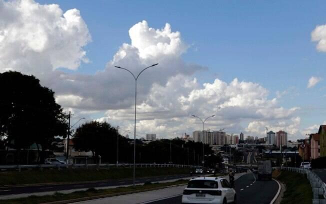 Campinas terá terça-feira com sol entre nuvens, diz Cepagri