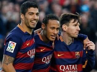Neymar fala em renovar com o Barça