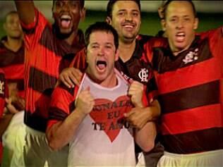 Tufão (Murilo Benício) é artilheiro do Flamengo
