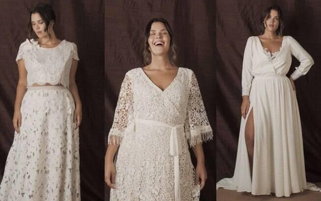 A principal dica da estilista Julia Pak para quem é uma noiva fora do padrão e não vai perder peso é não seguir regras