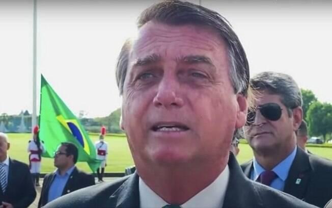 Bolsonaro atacou a imprensa e disse que país está