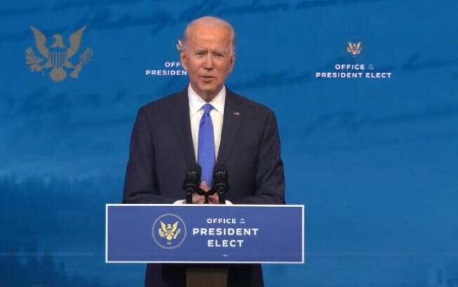 Biden discursa aps vitria no Colgio Eleitoral: 'A democracia prevaleceu'