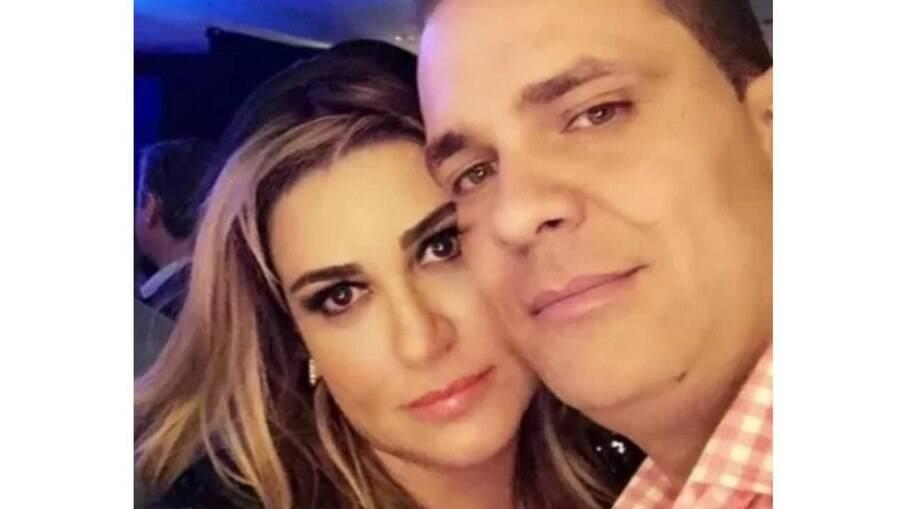 Anne Cipriano e namorado assassinado